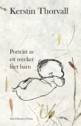 Porträtt av ett mycket litet barn av Kerstin Thorvall