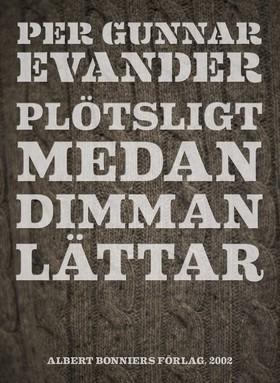E-bok Plötsligt medan dimman lättar av Per Gunnar Evander