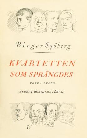 E-bok Kvartetten som sprängdes av Birger Sjöberg