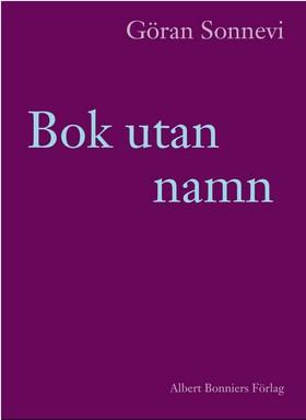 Bok utan namn