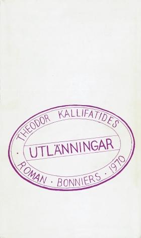 E-bok Utlänningar av Theodor Kallifatides