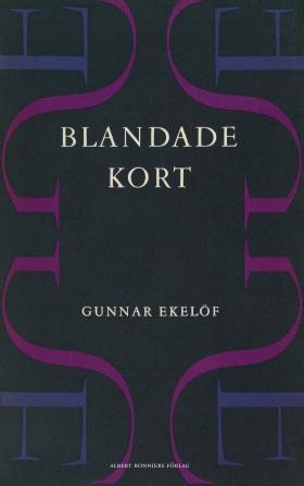 E-bok Blandade kort av Gunnar Ekelöf