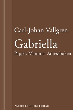 Gabriella : Pappa Mamma Adressboken