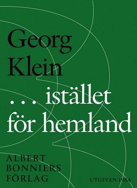 E-bok ... i stället för hemland av Georg Klein