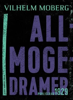 E-bok Allmogedramer : två dramer av Vilhelm Moberg