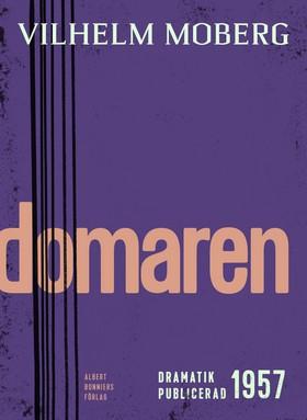 E-bok Domaren : en tragisk komedi i sex scener av Vilhelm Moberg
