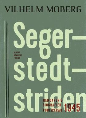 E-bok Segerstedtstriden av Vilhelm Moberg