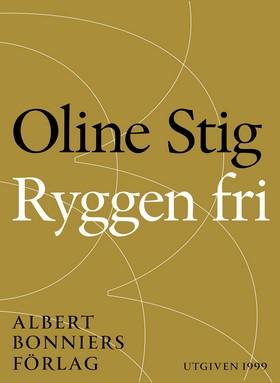 E-bok Ryggen fri : noveller av Oline Stig