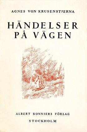 E-bok Händelser på vägen av Agnes von Krusenstjerna