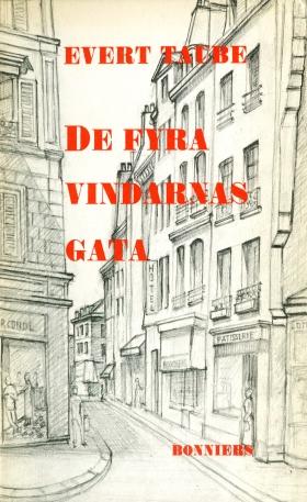 E-bok De fyra vindarnas gata av Evert Taube