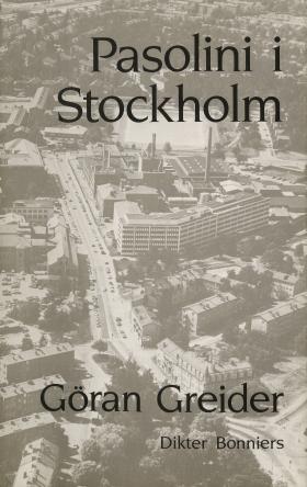 E-bok Pasolini i Stockholm : Dikter av Göran Greider