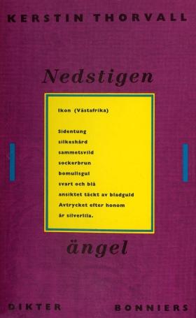 E-bok Nedstigen ängel : Dikter av Kerstin Thorvall