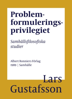 Problemformuleringsprivilegiet
