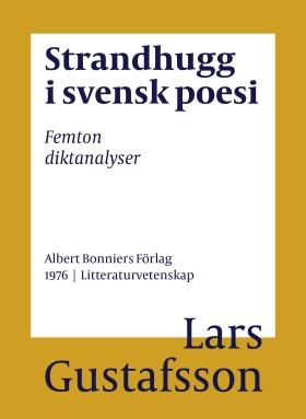 Strandhugg i svensk poesi