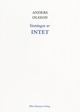E-bok Läsningar av Intet av Anders Olsson