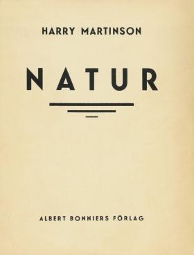 E-bok Natur : dikter av Harry Martinson