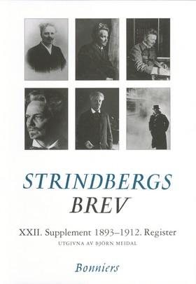 Brev XXII.Supplement. 1893-1912 av August Strindberg