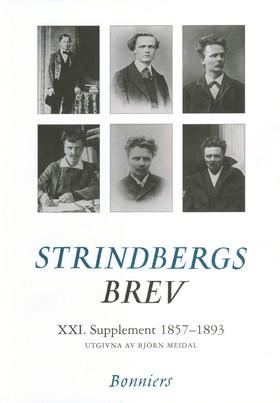 Brev XXI.Supplement. 1857-1892 av August Strindberg