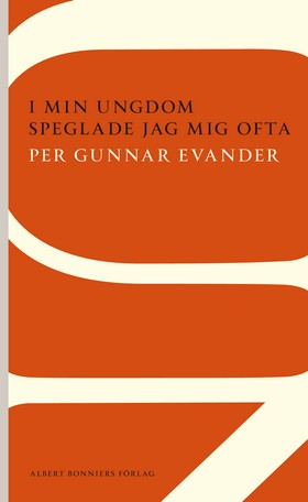 I min ungdom speglade jag mig ofta av Per Gunnar Evander
