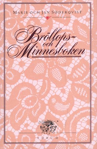 Bröllops- och minnesboken