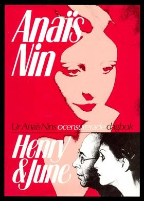 Omslaget till Anaïs Nins bok Henry & June