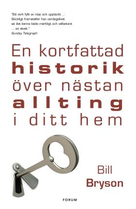 E-bok En kortfattad historik över nästan allting i ditt hem av Bill Bryson