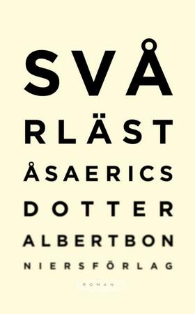 E-bok Svårläst av Åsa Ericsdotter