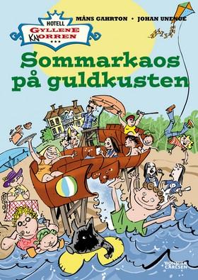 E-bok Sommarkaos på Guldkusten av Måns Gahrton