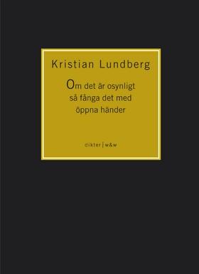 Om det är osynligt så fånga det med öppna händer av Kristian Lundberg