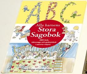 Alla barnens Stora Sagobok av Måns Gahrton