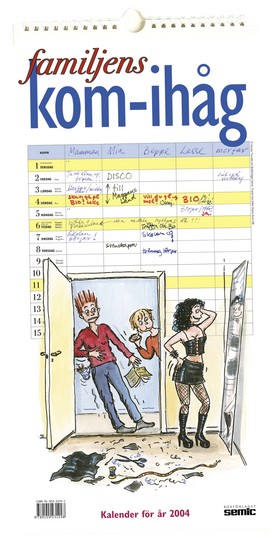 Familjens kom-ihåg kalender 2004