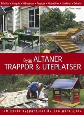 Bygg altaner, trappor & uteplatser