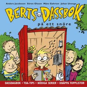 Berts dassbok på ett snöre av Anders Jacobsson