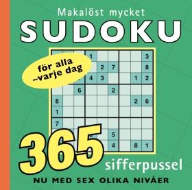 Makalöst mycket sudoku