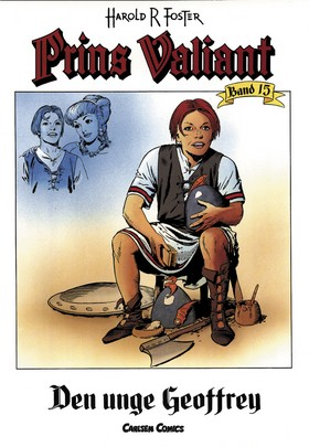 Prins Valiant. Bd 15, Den unge Geoffrey av Harold R Foster