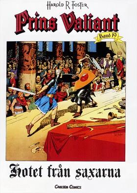 Prins Valiant. Bd 19, Hotet från saxarna av Harold R Foster