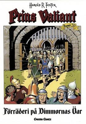 Prins Valiant. Bd 20, Förräderi på dimmornas öar av Harold R Foster