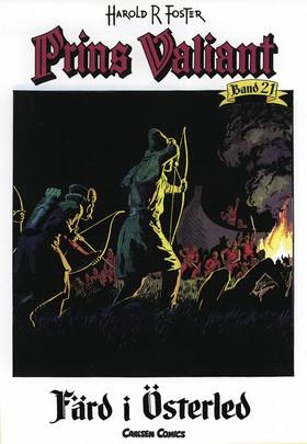Prins Valiant. Bd 21, Färd i österled av Harold R Foster