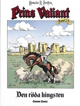 Prins Valiant. Bd 24, Den röda hingsten av Harold R Foster