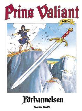 Prins Valiant. Bd 25, Förbannelsen av Harold R Foster