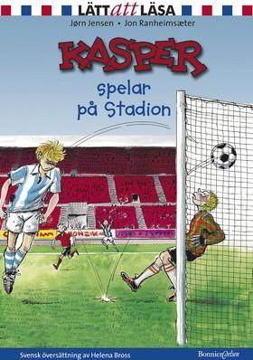 Kasper spelar på Stadion