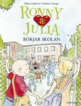 Ronny och Julia börjar skolan