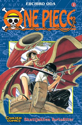 One Piece 03 : Skattjakten fortsätter av Eiichiro Oda
