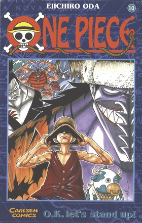 One Piece 10: Karate under vattnet