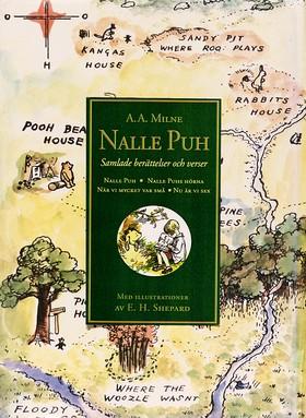Nalle Puh. Samlade berättelser och verser av A.A. Milne