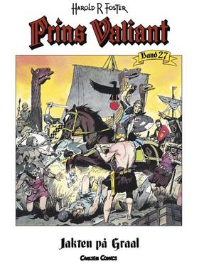 Prins Valiant. Bd 27, Jakten på Graal av Harold R Foster