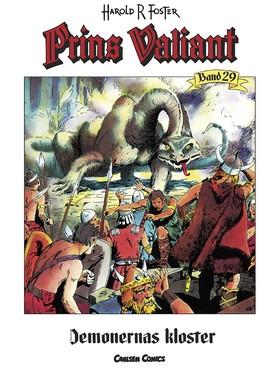Prins Valiant. Bd 29, Demonernas kloster av Harold R Foster