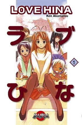 Love Hina 01 av Ken Akamatsu