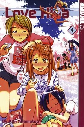 Love Hina 04 av Ken Akamatsu