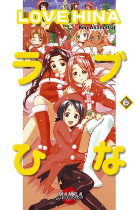 Love Hina 06 av Ken Akamatsu